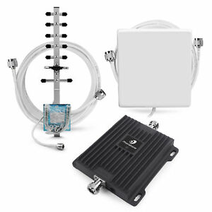 1900MHz 2G 3G Cell Phone Signal Booster Band 2 = Antenna Kit Enhance Voice Call