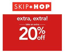 SKIP HOP extra 20% off code coupon