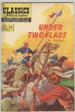 Classics Illustrated #86 Under Two Flags HRN 158 August 1951 VG-