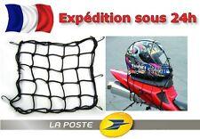 Filet Porte Bagage 30x30cm Casque Élastique Sacoche Réservoir MOTO SCOOTER QUAD