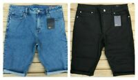 "Men`s new ASOS Denim Shorts Waist 26-28-30-31-32-33-34-36-38"" Cut Off/Turn Up"