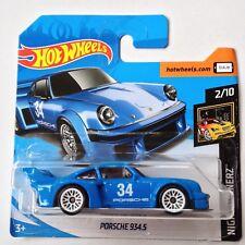 Hot Wheels Porsche 934.5 - blue