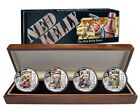 2015 Ned Kelly 4-Coin Silver Proof Set -BRAND NEW!!! Free Post In AU!
