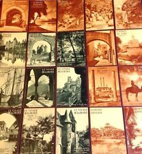 LE VISAGE DE LA FRANCE - LA FRANCE LOINTAINE 20 livres SERIE COMPLETE 1927
