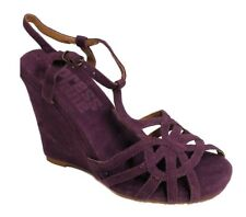 Xpress Lane Women's Purple Wedge Sandal US 6 NOB NWD
