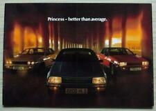 AUSTIN MORRIS PRINCESS Car Sales Brochure Jun 1979 #3398 1700 2000 2200 L HL HLS