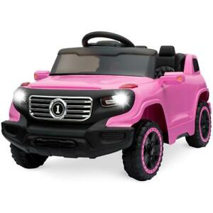 Best Choice Products 6V Kids Ride On Car Truck w/ Parent Control, 3 Speeds