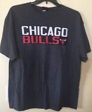 Chicago Bulls Majestic NBA Jimmy Butler 21  Gray  T-Shirt SIZE XL
