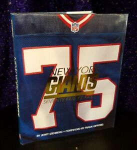 New York Giants: 75 Years by Jerry Izenberg, 1999 Hardcover 1st Print Time Life
