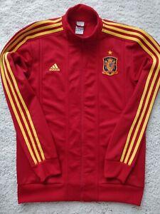 Adidas ESPANA FEF National Team Track Jacket Football Soccer Sweatshirt Spain