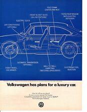 1969 VOLKSWAGEN BEETLE ~  CLASSIC ORIGINAL PRINT AD
