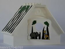 Lego Duplo Safari Haus aus 3095 Wildlife Park Building House Häuschen Zoo