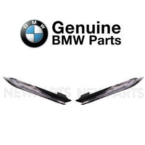 For BMW F12 F13 Pair Set of Front Left & Right Side Marker Lights Assy Genuine
