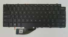 "New listing Genuine Dell Xps 13 7390 2-in-1 13.3"" Laptop Us Backlit Keyboard Black 4J7Rw"
