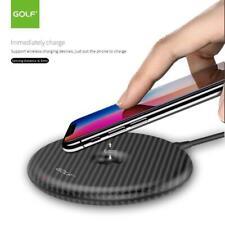 Qi Inalámbrico Cargador Rápido 1A Pad Samsung Galaxy S8 S9 S10 iPhone 11 XS MAX 8 8+