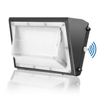 LED Wall Pack Outdoor Commercial Wall Light Fixture 100W 150W 5000K Dusk To Dawn