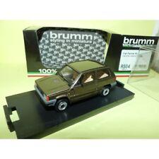 FIAT PANDA 45 S 1982 Marron BRUMM R504 1:43