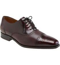 Mezlan Tyson II Oxford Burgundy Oxford Calf,Deerskin Men's Shoes