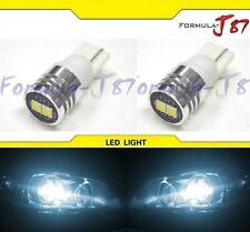 3030 One Side LED Light 194 White 6000K Two Bulbs Front Side Marker Lamp JDM