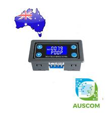 XY-WJ01 Delay Relay Module Digital LED Dual Display Cycle Timing Circuit