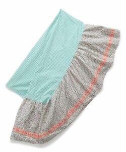 Full Matilda Jane Camp MJC Hidden Gem Bedskirt bed skirt NEW