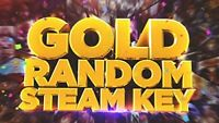🔥10x Gold Random Steam Keys PC (Global ~ Region Free)