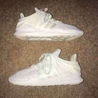 Adidas EQT Support ADV 91/16 White Running Trainers Mens Size UK 9 VGC