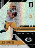 2018 Panini Unparalleled #75 Joe Kerridge NM-MT Packers  ID:17342
