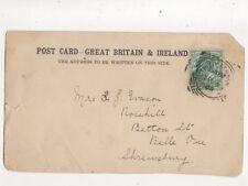 South Tottenham [1] 5 Sep 1904 Squared Circle Postmark 405b