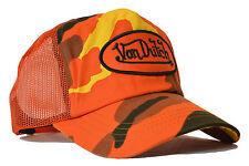 VON van DUTCH MESH TRUCKER BASE CAP [CAMOUFLAGE CAMO] HUT MÜTZE BASECAP KAPPE V