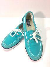 Polo Ralph Lauren Womens Sander Boat Sneaker Top-Sider Shoe Canvas Size 5 1/2