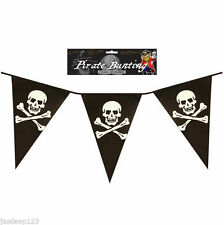 Pirates Plastic 1-5 m Party Banners, Buntings & Garlands