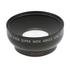 43mm 0.45X Wide Angle Macro Lens for for Canon Nikon Sony Pentax DSLR Camera