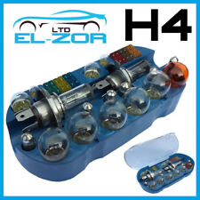H4 Emergency Light Bulb Fuse Car Kit Spares 30 Pcs 233 Ba9s 382 380 1156 1157