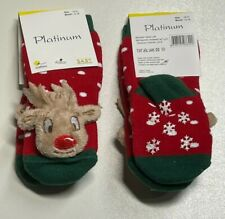 Women Men Unisex Baby Christmas Crew Socks, Great X-Mas Gift HIGH QUALITY COTTON