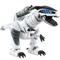 Remote Control Walking Interactive Dinosaur RC Toy for Kids Roars & Fires Rocket