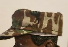 """1/6th scale for 12"""" inch camo military patrol cap  1:6  military hat"""