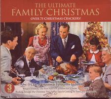 ULTIMATE FAMILY CHRISTMAS:  OVER 75 CHRISTMAS CRACKERS - 3 CD SET (2011)