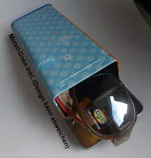 große Fossil Sonnenbrille f. Damen; Kunststoff golden #087 3395 710 verspiegelt