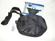 BNWT Black Waist Bumbag Bag  21 x 17 x 9cm in Polyester