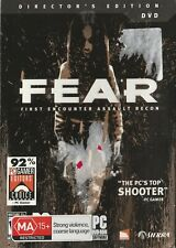 Pc Game - Fear - Directors Edition & Fear - Extraction Point Expansion Pack