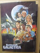 Vintage Poster Battle star Galactica Movie  1978  Inv#376