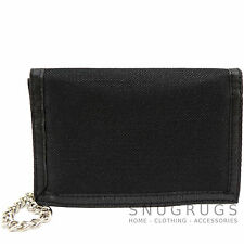 Mens / Boys / Childrens Canvas Style Ripper Wallet with Key Chain