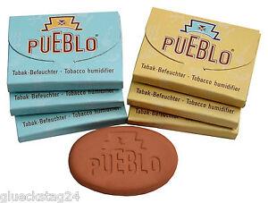 PUEBLO Hydrostone NEU Tabakbefeuchter Tabakstein für Tabakbeutel Tabakerfrischer