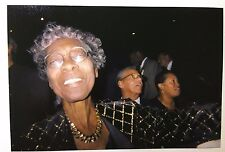 Vintage PHOTO Older African American Black Woman Showing Off Her Fashion Clothes