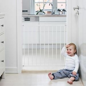 BabyDan No Trip Screw Fitted Baby Gate Child Safety Stair Gate 71.5-78.5cm