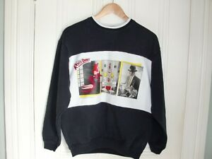 Who Framed Roger Rabbit 1987 Black and White Sweatshirt Vintage
