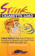 Stink Bomb Cigarette Loads Practical Joke Gag Prank Annoy Smokers Party Smoking