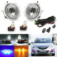 LED Right Left Side Fog Light Lamp Wiring Kits For Mazda CX-5 CX-7 CX-9 MX-5 RX8