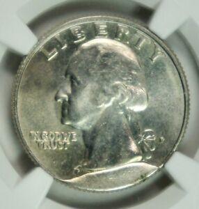 "Washington ""P"" Quarter 25c Mint Error - Obv CUD – Rev Retained CUD - NGC MS64"